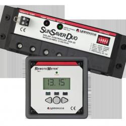 SunSaver Duo met remote display